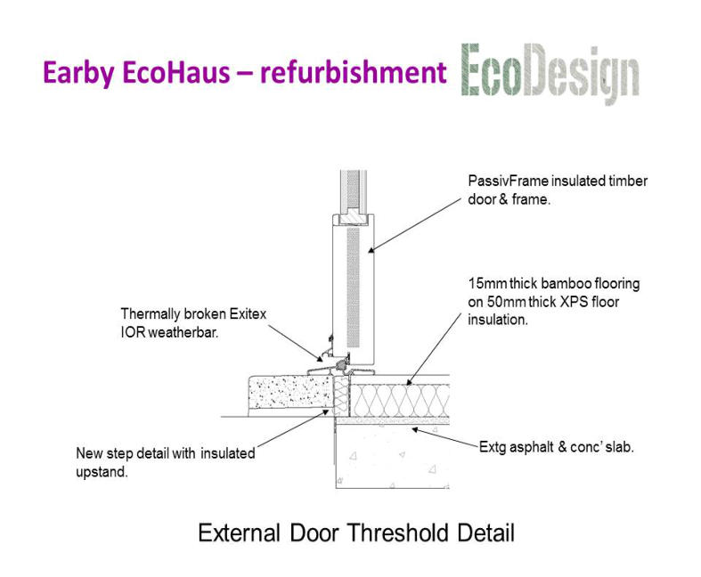Sc 1 st Dales Contracts image number 2 of timber door threshold Timber Door  Threshold SlidingDoor Sill Section   Exterior Parts Of A Hinged Patio Door sc 1  . External Hardwood Door Threshold. Home Design Ideas
